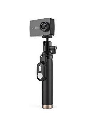 Xiaomi Yi 2 4K Kamerasi Bluetooth Kumanda Ve Selfi Cubugu İle