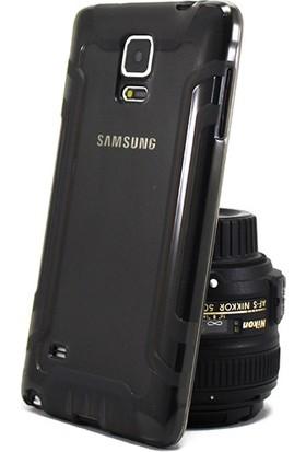 Hockey Samsung Galaxy Note 4 Şeffaf Silikon Kılıf