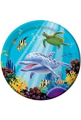 Alins Okyanus Parti Tabağı 23 Cm 8 Adet