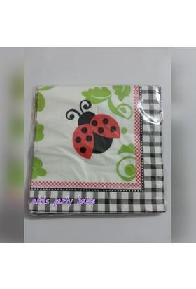 Alins Uğur Böceği Peçete 33X33Cm 20 Adet