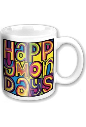 "Rock Off Happy Mondays ""Dayglo Logo"" Kupa"