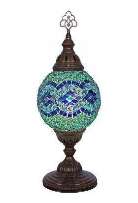 Tayyarart mozaik Masa Lambası 15 Lik Top