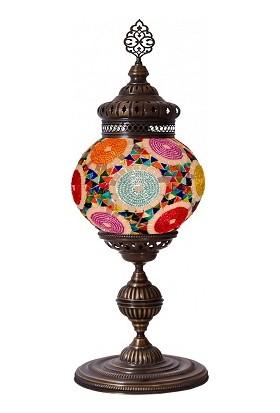 Tayyarart mozaik Masa Lambası 20 Lik Top