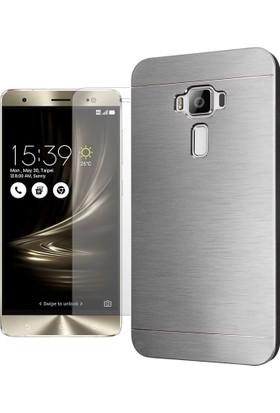 TG Asus Zenfone 3 Deluxe ZS570KL Metal Kılıf + Ekran Koruyucu