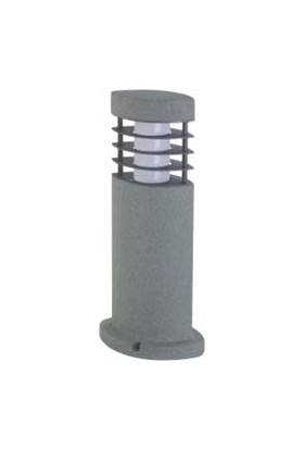 Ngz Taş Oval Kısa Çim Armatür ( Alümınyum Gövde Üstü Kaplı Polystone Malzeme )