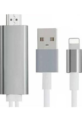 OEM iPhone Hdmi Kablo - iPhone Görüntü Aktarım Kablosu - iPhone 5 Üstü Uyumlu
