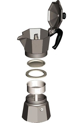 Bialetti Moka Pot Express (4 Cup)