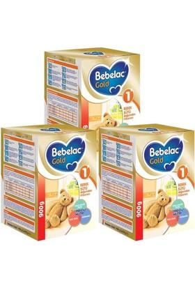 Bebelac Gold 1 Bebek Sütü 900 gr - 3'lü