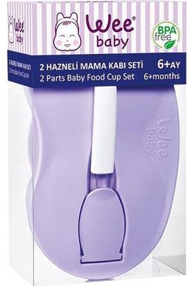 Wee Baby Baby İki Hazneli Mama Kabı Seti