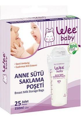 Wee Baby Baby Anne Sütü Saklama Poşeti 25'li 330 ml