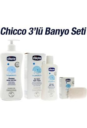 Chicco 500 Ml Şampuan+Sabun+200Ml Banyo Köpüğü 3'Lü Set