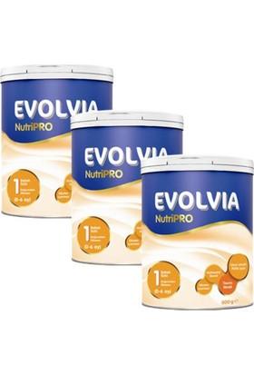 Evolvia NutriPRO 1 Bebek Sütü 800 gr - 3'lü