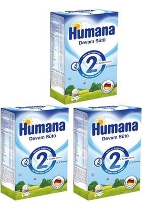 Humana 2 Devam Sütü 600 gr - 3'lü