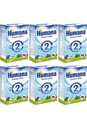 Humana 2 Devam Sütü 600 gr - 6'lı