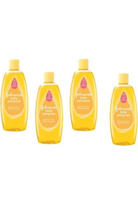 Johnsons Baby Şampuan 200 Ml 4'Lü