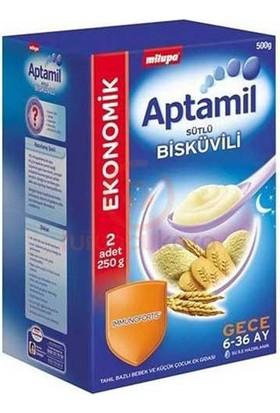 Aptamil Kaşık Maması Sütlü Bisküvili 500 Gr.