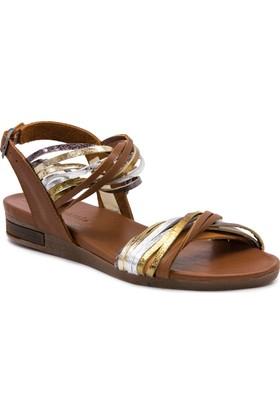 Mammamia D17Ys1690 Taba Terlik - Sandalet