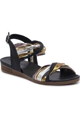 Mammamia D17Ys1690 Siyah Terlik - Sandalet