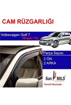Sunplex 4 Lü Volkswagen Golf 7 Ön-Arka Sport Style Sun Mild Cam Rüzgarlığı 1321209