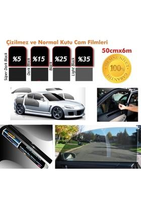 Carub Cam Filmi 50Cmx6M Çizilmez Black Kutu Bir Arabalık