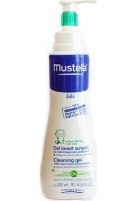 Mustela Cleansing Gel Yenidoğan Şampuan 200 ml