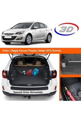 Quadro Astra J Bagaj Havuzu Paspası Sedan 2012 Sonrası