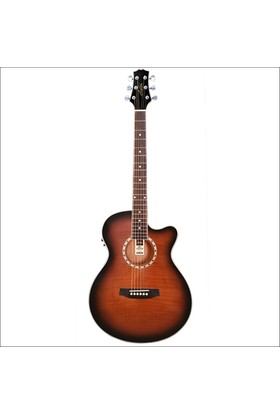 Ashton Sl29Ceq Elektro Akustik Gitar