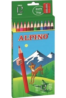 Alpino Kuru Boya Kalemi 12 Li Al-654