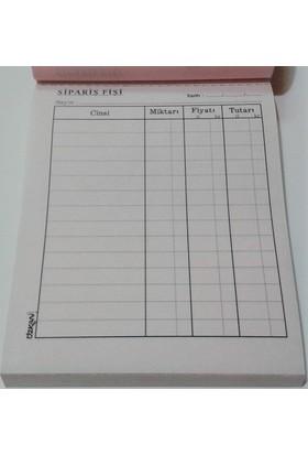 Özkan Sipariş Fişi Mini 2 Nüsha Otokopili 6 lı Paket