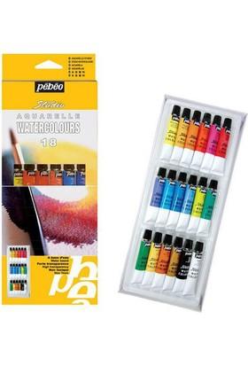 Pebeo Studio Suluboya Seti 18 Renk X 12 Ml