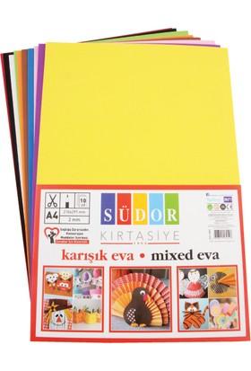 Südor Eva 20X30 Cm 2 Mm 10 Renk Karışık Sk02