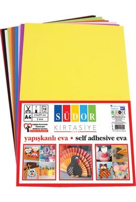 Südor Eva 20X30 Cm 2 Mm 10 Renk Yapışkanlı Sk17