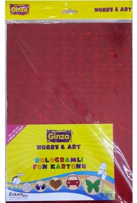 Ginza Hologramlı Fon Kartonu 24X34Cm 10 Lu Paket