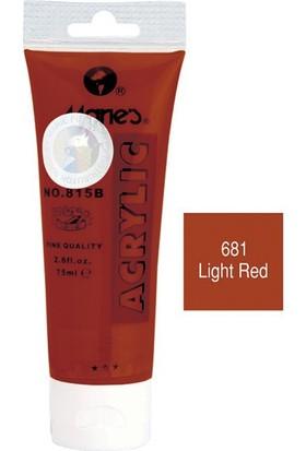 Maries 815-681 Akrilik Boya 75Ml Light Red
