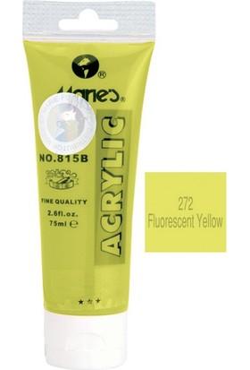 Maries 815-272 Akrilik Boya 75Ml Fluorescent Yellow