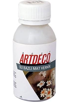 Artdeco Su Bazlı Mat Vernik 25Ml