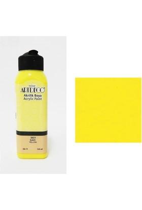 Artdeco Akrilik Boya 140 Ml Sarı