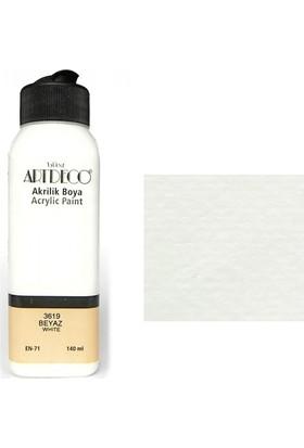 Artdeco Akrilik Boya 140 Ml Beyaz