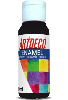 Artdeco Enamel Cam Ve Seramik Boyası 60 Ml Siyah