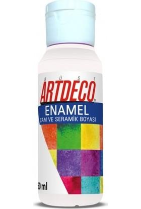 Artdeco Enamel Cam Ve Seramik Boyası 60 Ml Beyaz