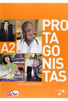 Protagonistas A2 Libro Del Alumno +Cuaderno De Actividades +2 Cd