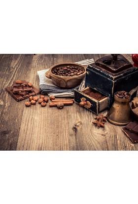Doğuş Peluş Halı 3D Pano 701 Çikolata Kahve