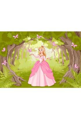 Doğuş Peluş Halı 3D Pano 905 Çocuk Pamuk Prenses