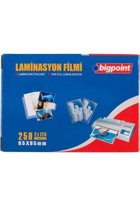 Bigpoint Bp698 Lamınasyon Fılmı 65X95 125 Micron