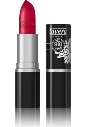 Lavera Organik Dolgunlaştırıcı Kremli Ruj - Daima Kırmızı 34 (Timeless Red)