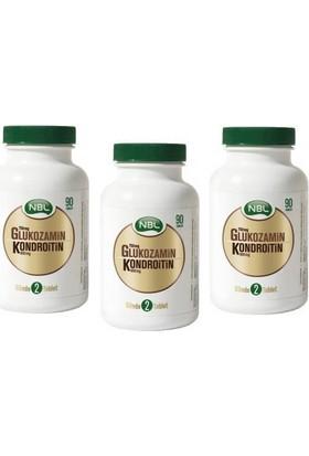 Nbl Glukozamin Kondroitin 90 Tablet - 3Adet