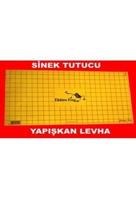 Elektro Frog Sinek Tutucu Yapışkan Plaka ( 30 X 60 Cm ) 10 Adet