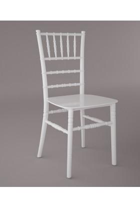 Sandalye Fabrikası Tiffany Sandalye Beyaz