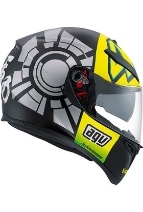 Agv K-3 Sv Winter Test 2012 Kask