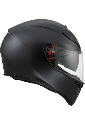 Agv K-3 Sv Solid Matt Black Kask